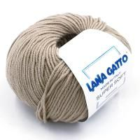 Lana Gatto Super Soft (10046 крем-брюле) 100% меринос экстрафайн 50 г/125 м
