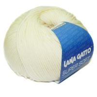 Lana Gatto Super Soft (00978) 100% меринос экстрафайн 50 г/125 м